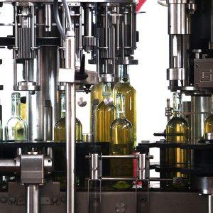 macchine per l'imbottigliamento dei vini