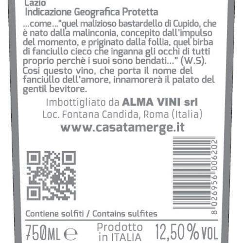 CUPIDO Rosso Lazio IGP - Casata Mergé - Italian Wines
